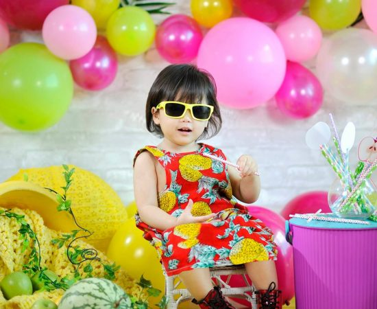 Colorful Tutti Frutti Theme for Little Marie! What a sweet and adorable Photosho...