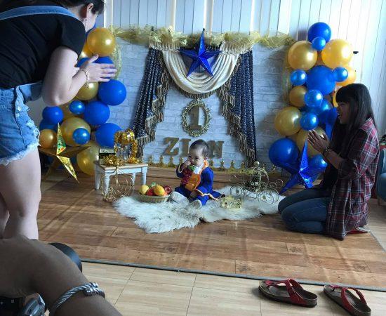 Done with baby Zion pre-bday photoshoot :) #vasandiegostudio #vacreatives2017 #V...