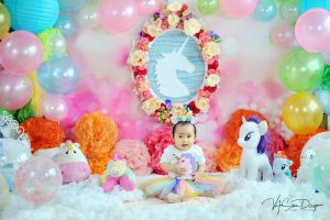 Elisha's pre-birthday photoshoot :) #unicorntheme #VAstyling #vasandiegostudio #...