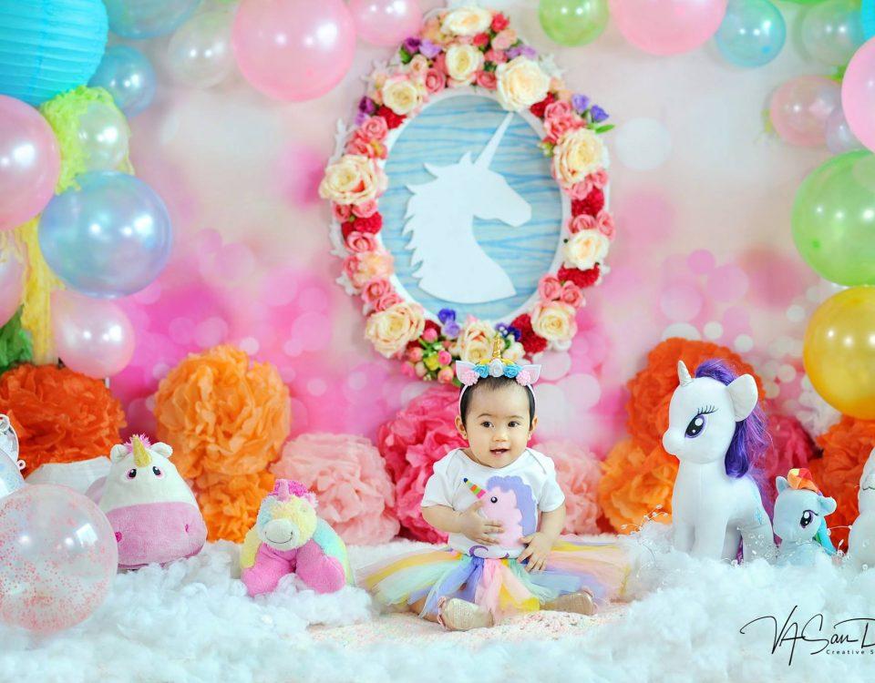 Elisha's pre-birthday photoshoot :) #unicorntheme #VAstyling #vasandiegostudio #...