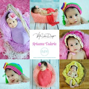 """""""How wonderful life is, now you're in the world, Arianne Valerie @ 1 month old"""" ..."""