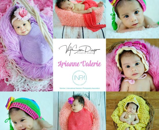 """How wonderful life is, now you're in the world, Arianne Valerie @ 1 month old"" ..."