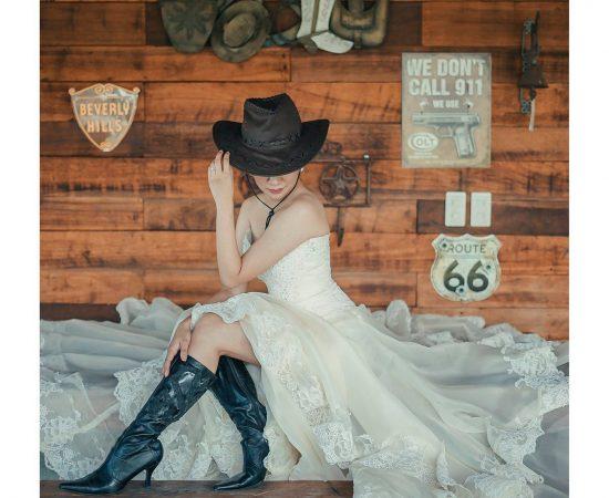 """Keep calm and Cowboy on"" #vabride #vasandiegostudio #vacreatives2017 #sonyph #a..."