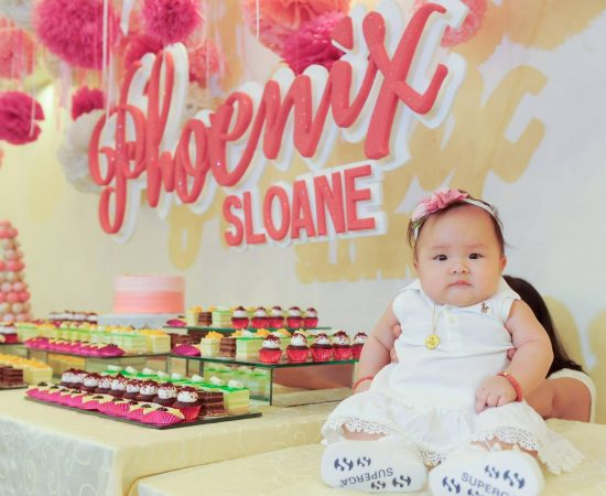 Phoenix Sloane Christening (Nov. 12, 2016) - Welcome to the Christian world litt...
