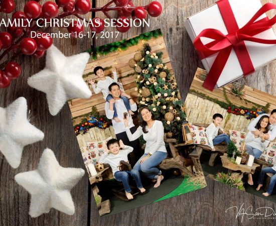 This holiday season enjoy a wonderful family photo session with VA San Diego Cre...