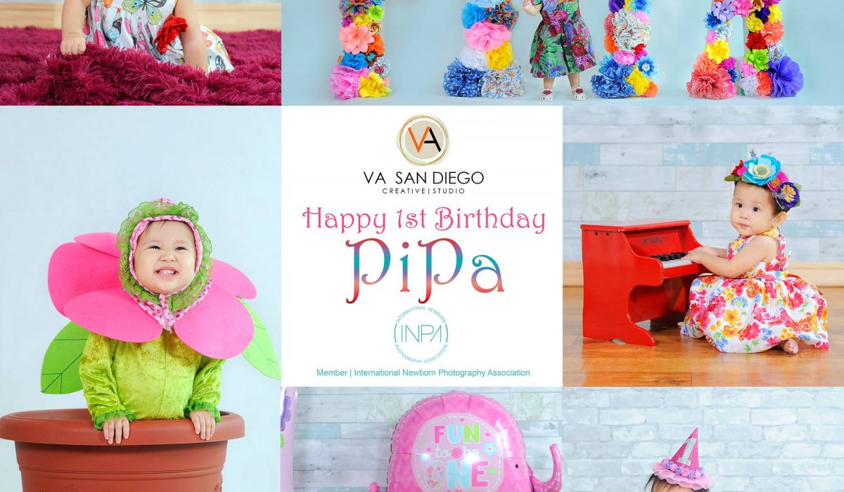 Today is Pipa's 1st Birthday! Happy Birthday cutiepie!