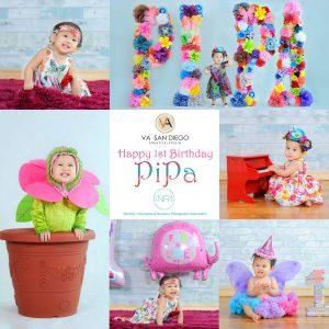 Today is Pipa's 1st Birthday! Happy Birthday cutiepie!
