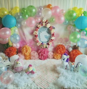 Todays set for baby Esha's pre bday shoot! #vastyling #vacreatives2017 #vasandie...