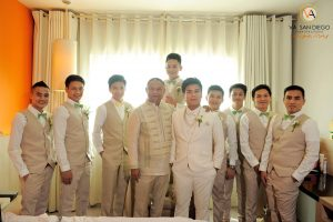 VA SAN DIEGO's team have witnessed and captured the traditional wedding of Salma...
