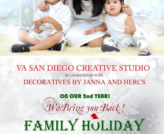 VA San Diego Creative Studio in cooperation with Decoratives by Janna & Herc...