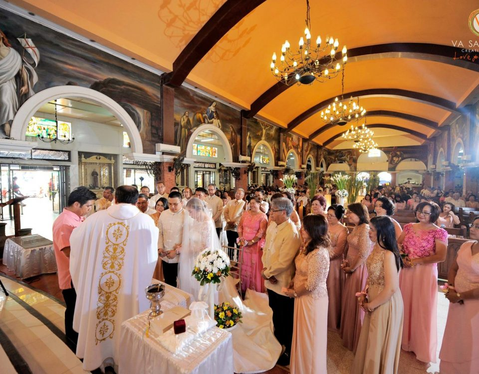 Wedding Ceremony- Sta. Ana Church Reception followed at Marco Polo Hotel in Dava...