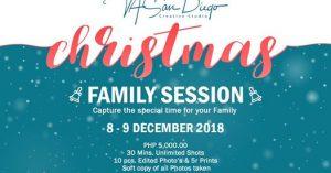 Family Christmas mini session/photoshoot