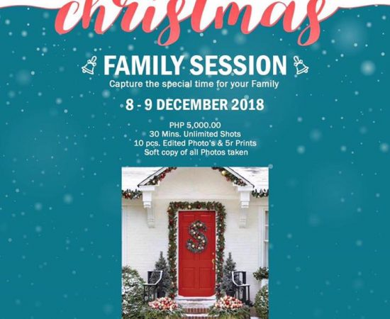 Family christmas session is up! Limited slots only! The most awaited Christmas f...