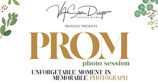 Prom photo session