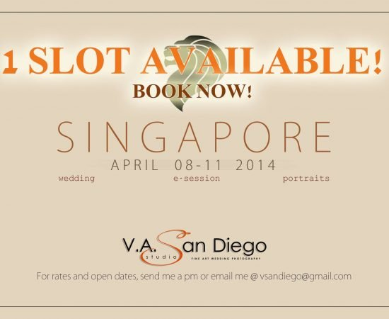 1 vacant slot available! #VAsandiegoStudio #singapore