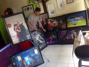 20X30 canvass prints for dec 27 wedding are now ready! #photogallery #VAsandiego...