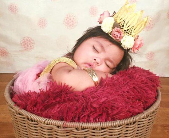 ATM baby photoshoot :)