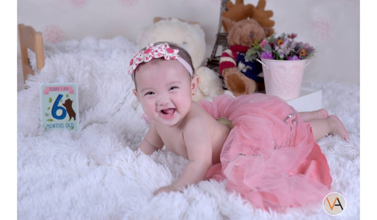 Baby shoot today! Baby Yanna :) Cuteness Overload! Happy 6th month baby Yanna! #...
