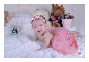 Baby shoot today! Baby Yanna :) Cuteness Overload! Happy 6th month baby Yanna! #...