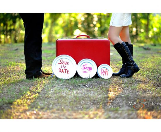 Pong and Acey e-session is a blast! Here's the Save the Date Teaser just taken f...