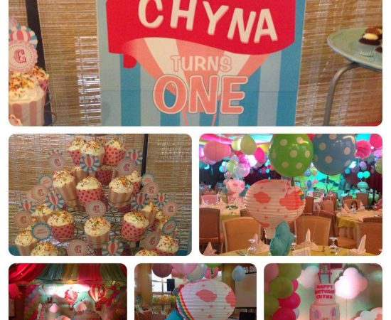 Successful 1st bday celebration of Chyna! Congrats daddy Jan and mommy Tina! :) ...