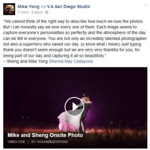 THIS MADE MY DAY!  Thank you for the inspiring words Mike and Sheng! Hehehe....I...
