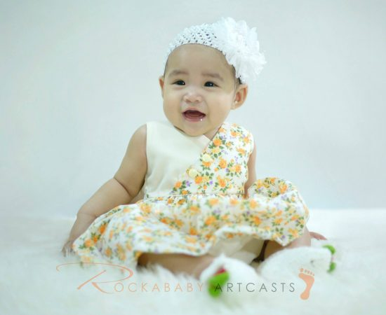 The cuteness of baby Elianna captured thru photographs! At 6 months old :) #rock...