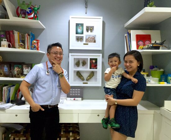 Visited our pedia doc jet lu! So proud with our finished products! The LU brothe...