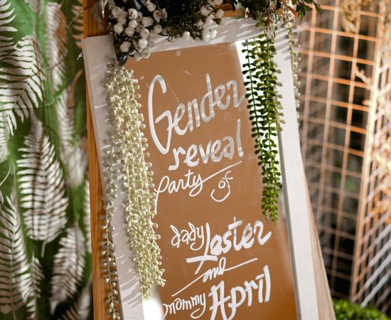Gender Reveal   Decor by: Decoratives by Janna and Hercs  Coordination: Vern Eve...